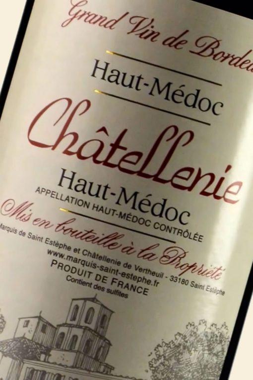 Châtellenie - AOC Haut Médoc