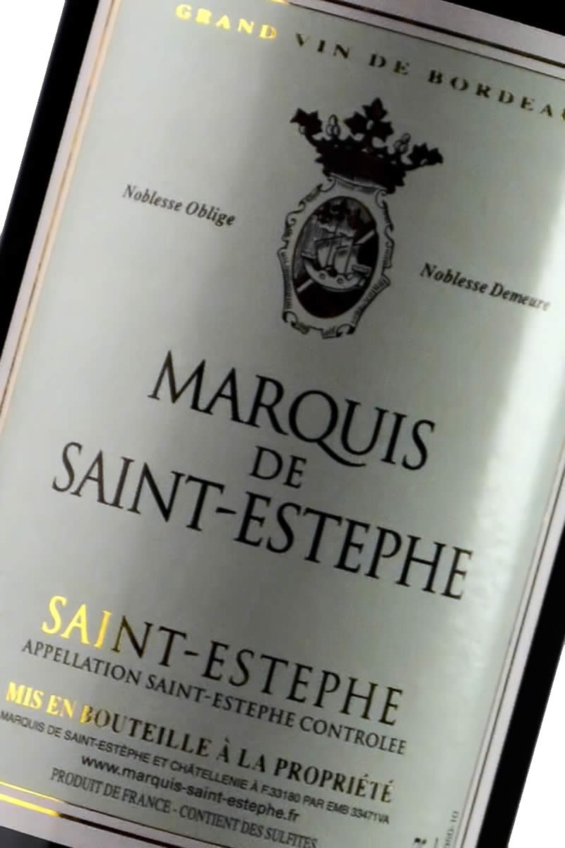 Marquis de Saint-Estèphe et Châtellenie de Vertheuil réunis